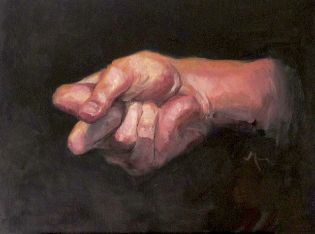 Hand Painting in Oil by Adam Miconi