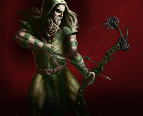 Green Arrow by Adam Miconi