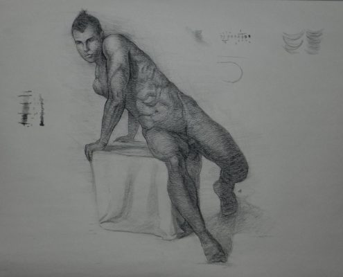Figure drawing for Figure Drawing Fundamentals Course by Adam Miconi